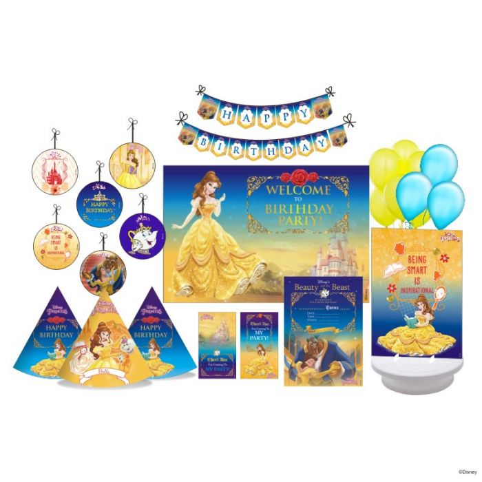 Belle Party package Cool Belle Birthday Decorations