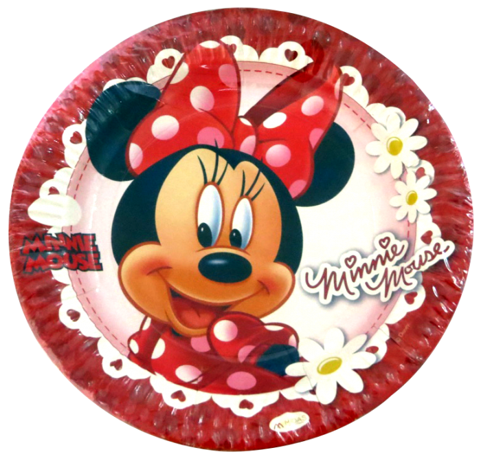 sc 1 st  Pretty Ur Party & Minnie Mouse Paper Plates Big