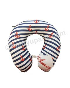 Nautical Travel Neck Pillow