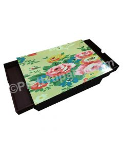 Flowers Lap Cushion with Storage