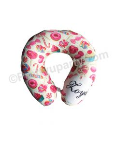 Candyland Travel Neck Pillow
