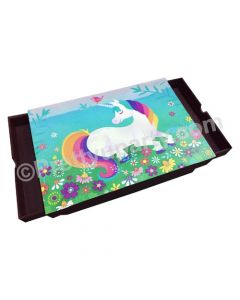Unicorn Lap Cushion with Storage