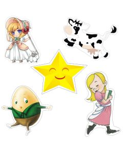 Nursery Rhymes Theme Cutouts
