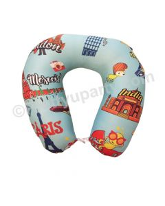 Travel Theme Travel Neck Pillow
