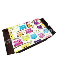 Owl Lap Cushion with Storage