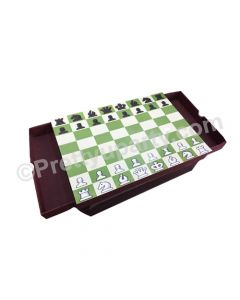 Chessboard Lap Cushion with Storage