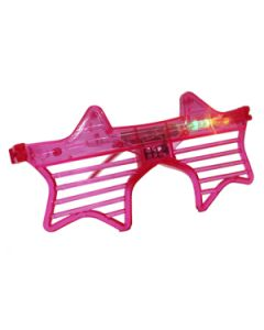 star shaped light-up goggles