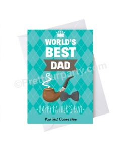 Father's Day Worlds Best Dad Card