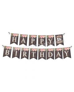 18th Birthday Theme Bunting