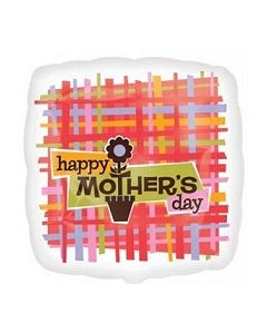 "Anagram 18"" Happy Mothers Day Foil Balloon"
