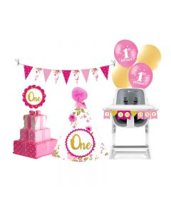 1st Birthday Decorations for Girls