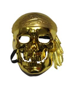Pirate Metallic Mask