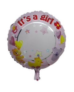 "Its a Girl - 18"" Foil Balloon"