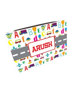 Alphabets and Transport Lap Cushion