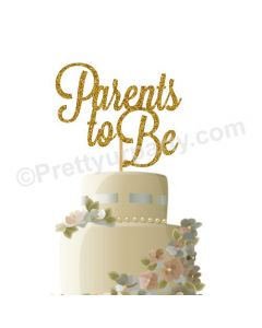 Parent To Be Cake Topper