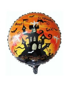 halloween foil balloon
