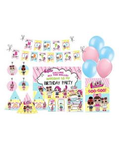 LOL Surprise Party Decorations Package