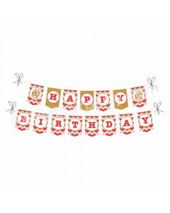 60th Birthday Theme Bunting