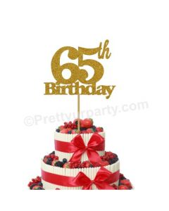 75th Birthday Cake Topper
