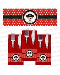 pirate napkin rings