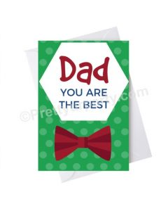 Father's Day Dad You Are the Best Card