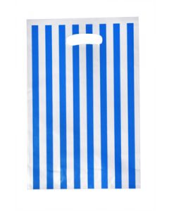 Blue Stripes Loot Bag