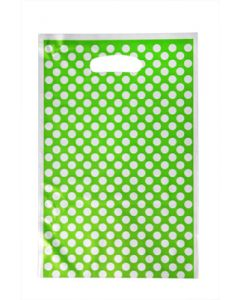 Green Polka Dots Loot Bag