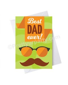 Father's Day Best Dad Ever Card