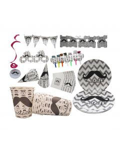 Moustache Party Set