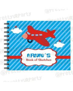Airlines themed Personalised Sketchbook