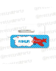 Airlines Theme Badge / Name Tag
