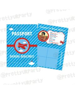 Personalised Airlines Passport