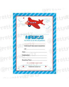 Airlines Invitations