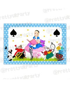 Alice in Wonderland Table Mats