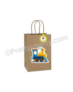Alphabets and Train Gift Bags- Pack of 10