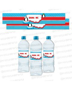 Arctic Love Water Bottle Labels
