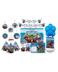 Marvel Avengers Party Decorations