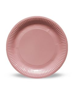 Baby Pink Paper Plates
