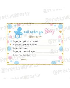 Baby Shower Well Wishes for baby