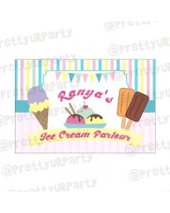 Ice Cream Theme Backdrop