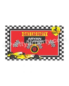 Race Car Theme Backdrop