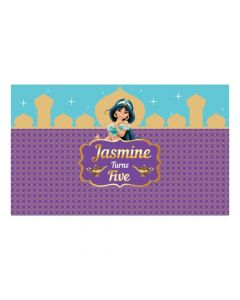 Jasmine and Aladdin Theme Backdrop