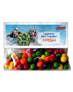 Avengers Treat Bag Toppers