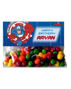 Captain America Treat Bag Toppers