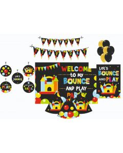 Ball Party Decorations Package - 70 pieces