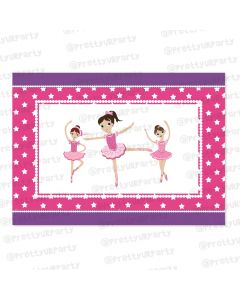 ballerina table mats