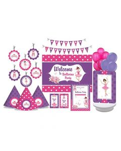 Ballernia Party Decorations