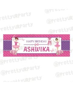 Personalized sofia the 1st Birthday Banner