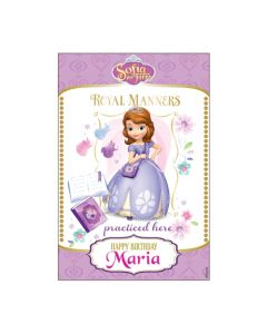 Sofia the first Enchanted Garden Party Vertical Banner 01