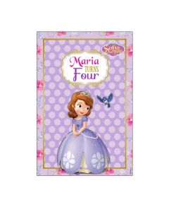 Sofia the first Enchanted Garden Party Vertical Banner 02